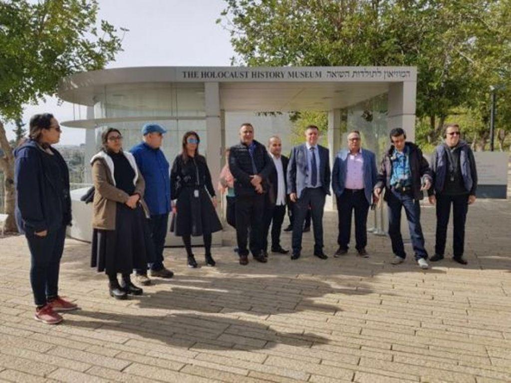 صورة صحفيون عرب من بينهم 5 مغاربة يزورون إسرائيل