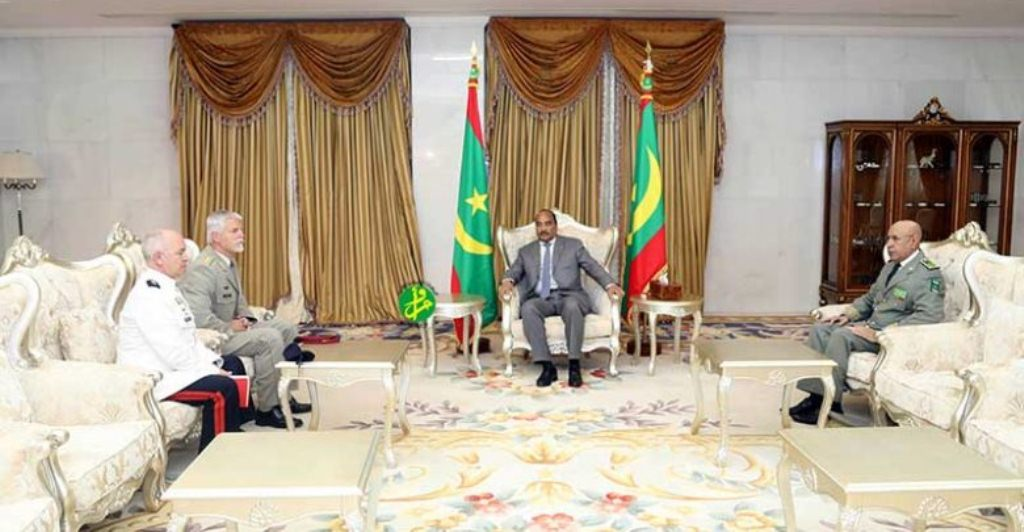 صورة الاطلسي يقيم مراكز لتسيير الأزمات في موريتانيا