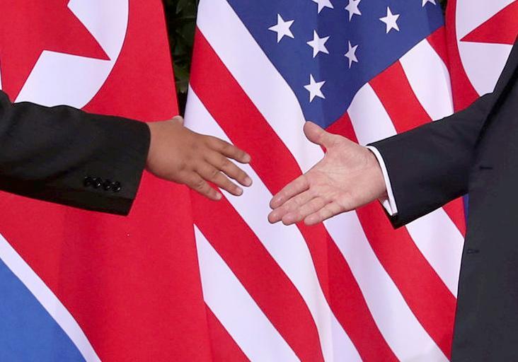 صورة ترمب لم ينتزع جديدا من كيم ولم يرق لقاؤهما إلى مستوى زيارة نيكسون للصين