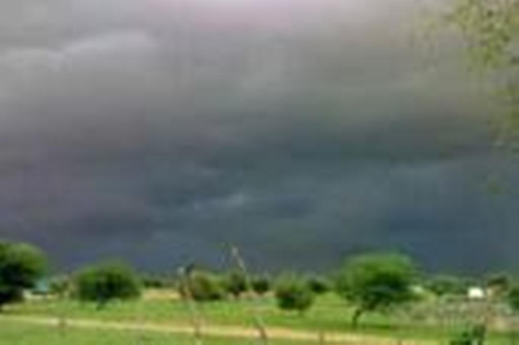 صورة أمطار خفيفة إلى متوسطة على الحوضين