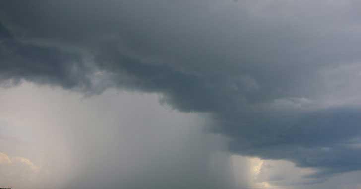 صورة أمطار خفيفة على بعض المناطق الموريتانية