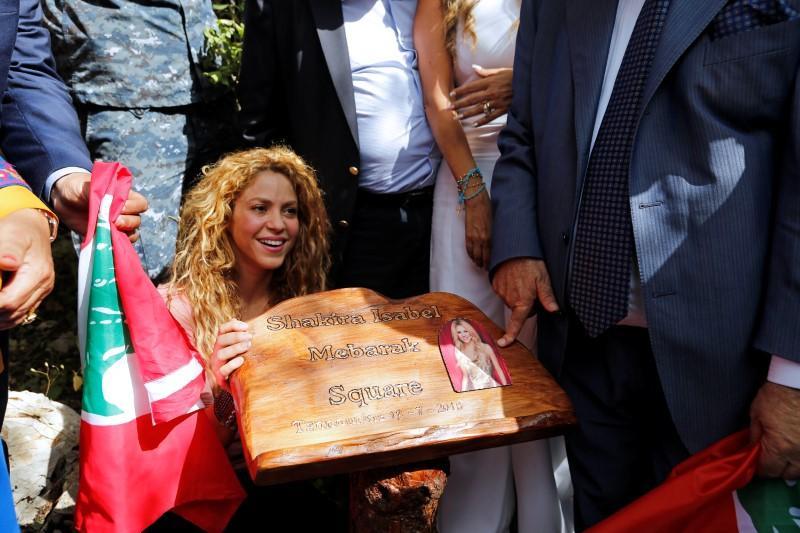 """صورة شاكيرا تغني في لبنان أرض أجدادها في أجواء """"سحرية"""""""