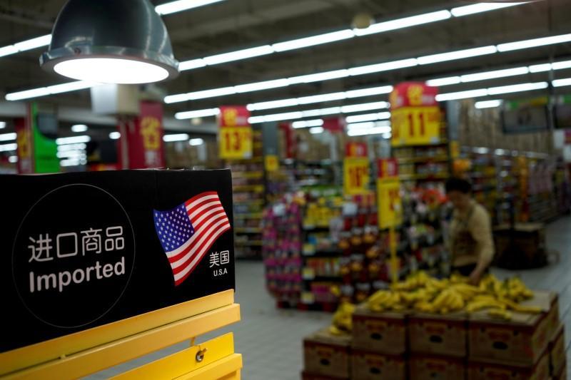 """صورة الصين تقول بتهديدات الرسوم الجمركية أمريكا """"تفتح النار"""" على العالم"""