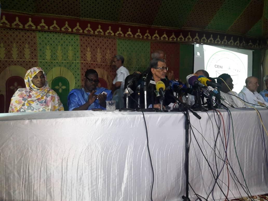 صورة المستقلة للإنتخابات تنشر النتائج المؤقتة لنيابيات نواكشوط