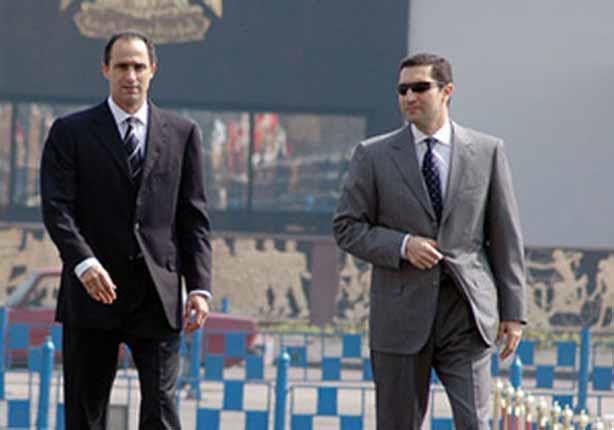 صورة نجلا مبارك إلى السجن مجدداً