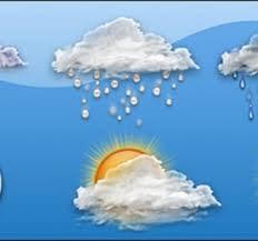 صورة أمطار متوقعة على  مناطق واسعة من موريتانيا