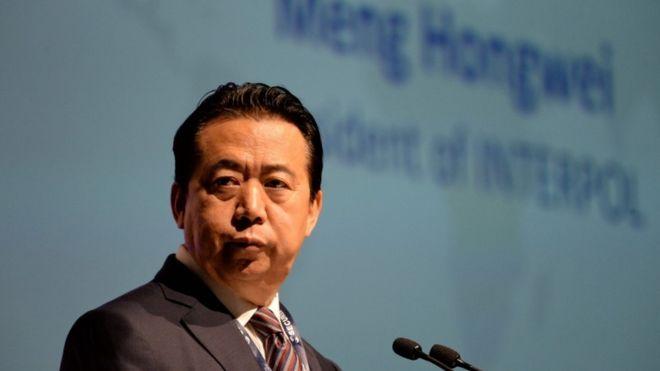 صورة الصين تؤكد اعتقالها رئيس الانتربول