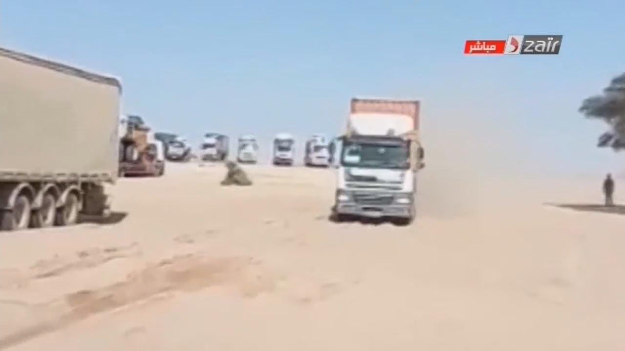 صورة الطريق الى نواكشوط … 9 أيام عبر 1700 كلم من طريق صحراوي ترابي