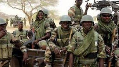 صورة مصرع 12 جنديا نيجيريا في قتال مع متشددين إٍسلاميين