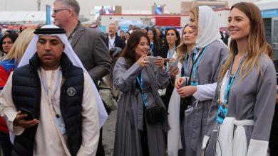 صورة سياح غربيون في السعودية مع سعيها إلى الانفتاح