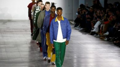 صورة اطلاق أسبوع للموضة لأزياء الرجال في لندن