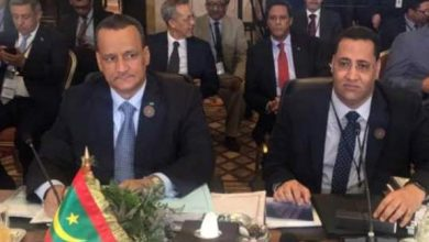 صورة وزراء عرب يوافقون على عقد القمة العربية التنموية الخامسة في نواكشوط… خلافات عربية ورئيسا موريتانيا والصومال يحضران