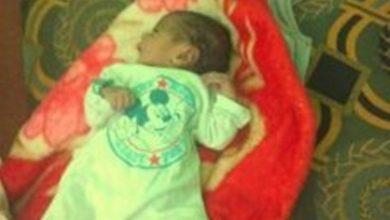 """صورة العثور على جثة رضيع في منطقة مهجورة بحي """"الطلح"""" شمالي نواكشوط"""