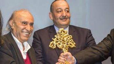 صورة جائزة الأركانة المغربية في الشعر للبناني وديع سعادة