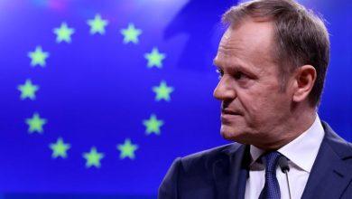"""صورة رئيس المجلس الأوروبي: """"مكان خاص في الجحيم"""" لدعاة خروج بريطانيا من الاتحاد الأوروبي"""