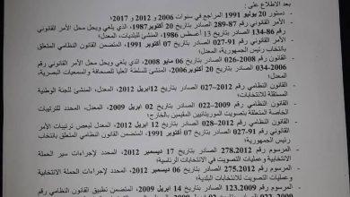 صورة استدعاء هيئة الناخبين وتحديد آجال الانتخابات الرئاسية الموريتانية