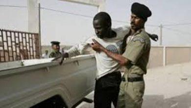 صورة موقع: جرح شرطي موريتاني وسجين أثناء محاولة سجناء الفرار