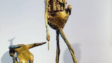 صورة منحوتة من مجموعة أزنافور للقطع الفنية تباع بـ2.11 مليون يورو