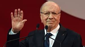 صورة الرئاسة التونسية تعلن وفاة الباجي قايد السبسي