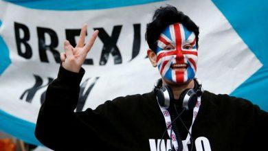 صورة مزيج من الحزن والسعادة.. ردود الفعل على خروج بريطانيا من الاتحاد الأوروبي