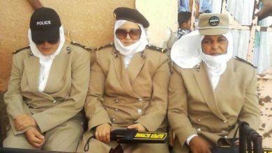 صورة نساء في الشرطة الموريتانية