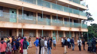 صورة مقتل 14 تلميذا على الأقل أثناء تدافعهم في نهاية اليوم الدراسي بكينيا