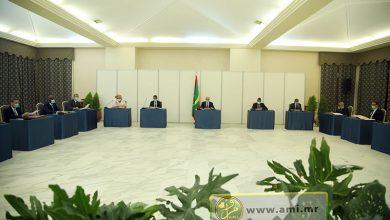 صورة موريتانيا: مجلس الوزراء يصدق على عدد من  مشاريع المراسيم