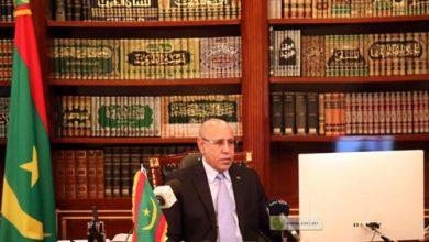 صورة غزواني يجدد الدعوة إلى إلغاء ديون إفريقيا..