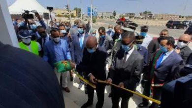صورة بالصور ولد الغزواني يدشن مقر المجلس الدستوري الجديد وسط العاصمة انواكشوط