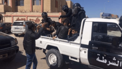صورة توقيف احد ابرز قادة عصابات التحايل والنصب في مفوضية عرفات 1…