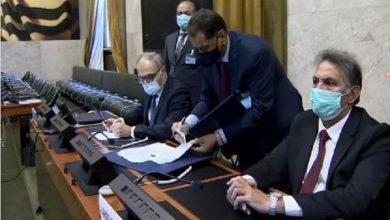 صورة اتفاق لوقف اطلاق النار في ليبيا